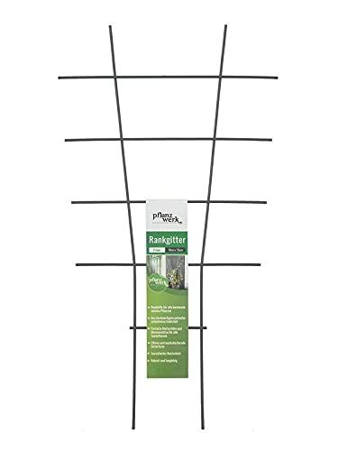 Pflanzwerk® Pflanzkübel Rankgitter - 2 Stück - 45x25cm Pflanzen Rankhilfe Blumen Rosen Kletterhilfe *100% ROSTFREI * *100% WURZELSCHUTZ* *100%...