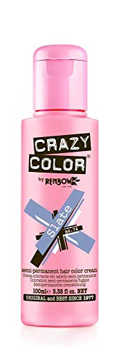Crazy Color Crema Colorante Vegetale per Capelli, Slate - 121 ml