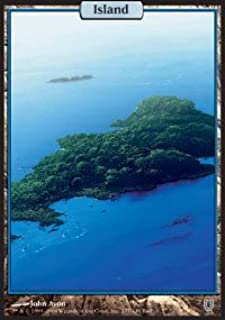 Magic: the Gathering - Island - Unhinged - Foil