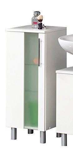 Kesper Badmöbel Trento Unterschrank, weiß, 31.3 x 32.5 x 82 cm