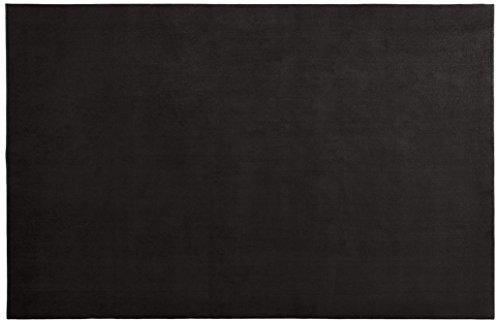 スミノエ(Suminoe) オーダーラグ ブラック 幅295cm×長さ200cm 抗菌ソフトプレーン 防炎 RK