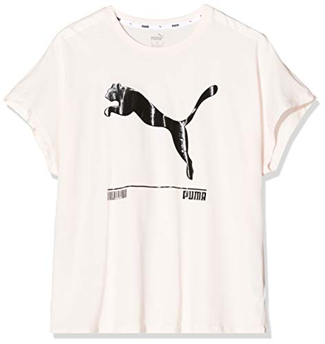 PUMA Nu-TILITY Tee T-Shirt Femme Rosewater FR : S (Taille Fabricant : S)