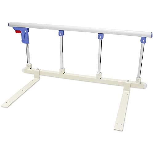 PYXZQW Bettgitter Faltbare tragbare Bett-Sicherheitsschiene für ältere Erwachsene Stützgriff Handicap Bettgitter Krankenhaus Metallgriff Stoßstange