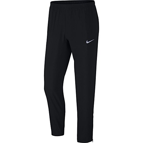 NIKE Men's Running Pants, Black, Small