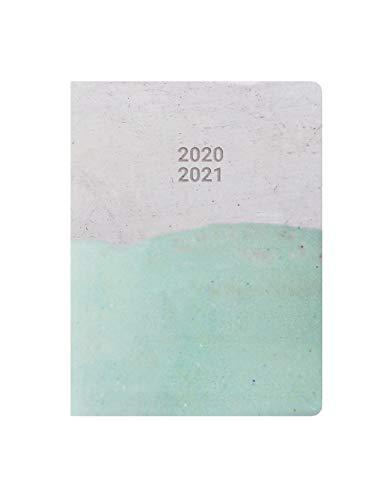 Letts Schülerkalender A6 Ceramica aqua 1Woche/2Seiten 2020/2021
