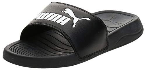PUMA Unisex Baby Popcat 20 Jr Zapatos de Playa y Piscina, Schwarz Black White, 38 EU