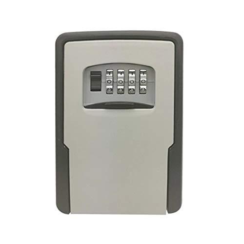 BaoYPP Caja de Seguridad para Llaves Ajustable de Bloqueo de Teclas Combinaciones de Almacenamiento de Bloqueo Caja de Almacenamiento Llave de la casa Práctico y Conveniente