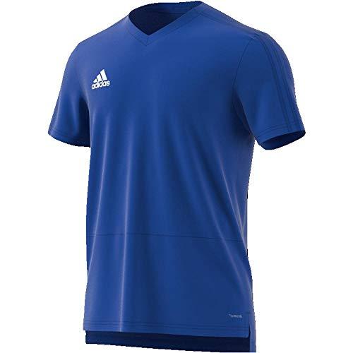 adidas Herren CON18 TR JSY T-Shirt, Bold Blue/White, S