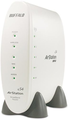 Buffalo Technology WBR2G54 Wireless, Airstation 54Mbps Wireless Cable/Dsl Router