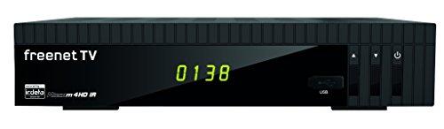 Microelectronic Micro m4HD IR Full HD HEVC DVB-T/T2 Receiver (H.265, HDTV, HDMI, Irdeto Zugangssystem, Mediaplayer, PVR Ready, USB 2.0, 12 V) schwarz