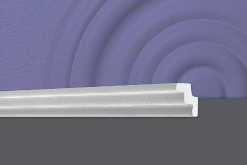 Cornici polistirolo per soffitto T30 barre da 2 metri lineari cornici polistirolo decorativo