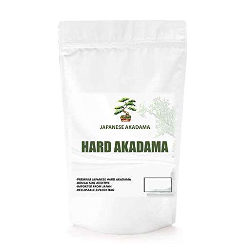 Japanese Hard Akadama | Bonsai Soil Additive | Imported from Japan | Reclosable Ziplock Bag (1.25 Quarts)