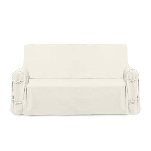 Funda de sofá de algodón PANAMA crudo