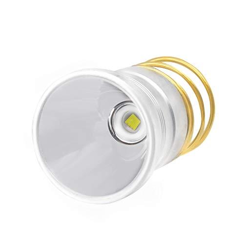 Ultra Bright XM-L2 LED Bulb Drop-in P60 Design Module,Single Mode Flashlight Repair Replacement LED Bulb For Surefire Hugsby C2 G2 Z2 6P 9P G3 S3 D2 Ultrafire 501B 502B (1 pack)