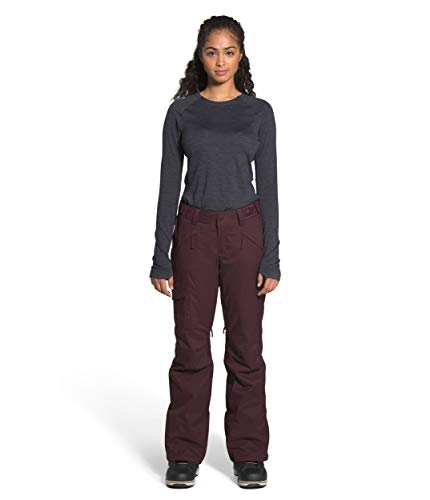 The North Face Women's Freedom Insulated Pant, Root Brown, L-REG