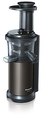 Panasonic MJ-L600 Slow Juicer / Entsafter / 3 Einsätze für Säfte, Smoothies & tiefgefrorene Zutaten / Graphitgrau