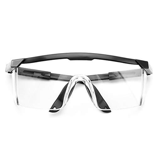 QIULAO Gafas Anti-Polen, Gafas de Seguridad Totalmente envueltas con luz Anti-Azul, Anti-Niebla, Arena eólica y gotitas, adecuadas para Trabajos Especiales de Hombres/Mujeres y salgan Gafas de desga