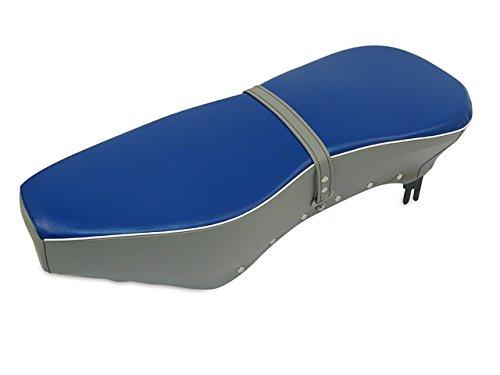 Sitzbank komplett blau-grau mit Riemen passend für AWO-Sport