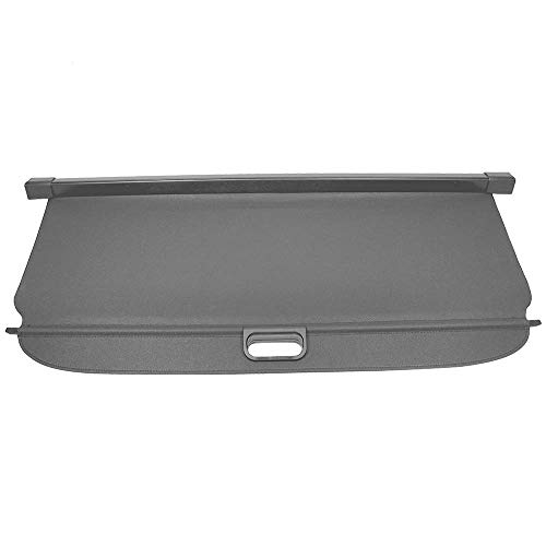 Cargo Cover Compatible With 2007 2017 Jeep Compass Patrior Black Pu Tonneau Cover Retractable By Ikon Motorsports 2008 2009 2010 2011 2012 2013 2014 2015 2016 Wantitall