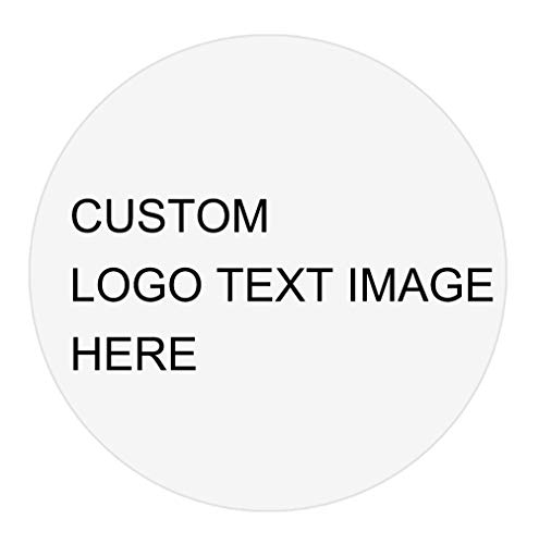 500 Packs 2 x 2 Inches Round Self-Adhesive Custom Stickers Customized Stickers Labels for Business Christmas Gift Text Image Logo Waterpoof Personalized Stickers