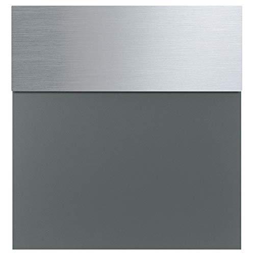 MOCAVI Box 580 Design-Briefkasten basaltgrau Edelstahl (ral 7012)