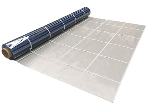 Plástico Transparente Flexible para toldos Dibujo Ventana en 1,40 de Ancho (Lona Transparente Dibujo Ventana de 2,00 x 1,40)