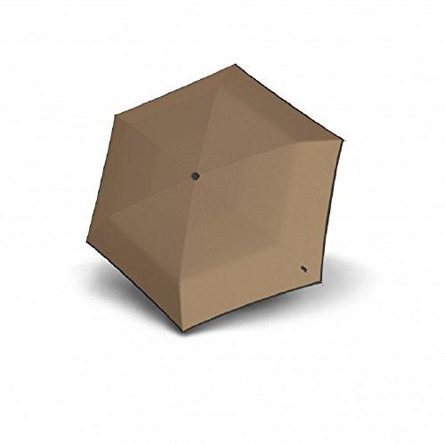 Knirps Unisex-Erwachsene Flat Duomatic Umbrella Regenschirm, Piping Desert, Einheitsgröße