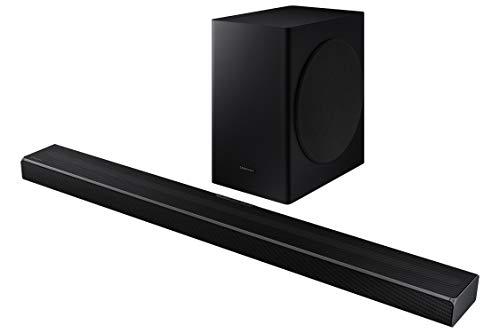Barra de Sonido SAMSUNG HW-Q60T - Sonido 360W, 5.1Ch, Subwoofer inalámbrico, Dolby Digital 5.1, DTS Virtual:X, Q-Symphony y Tecnología Acoustic Beam