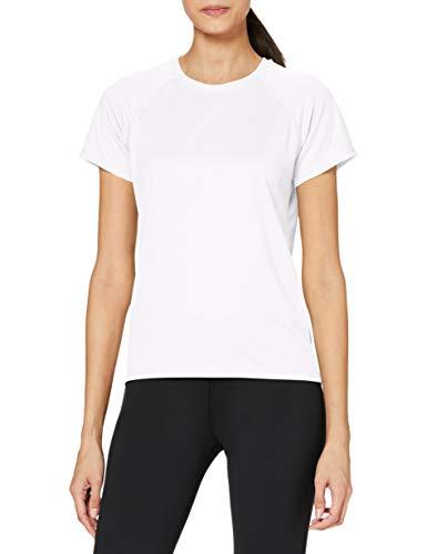 Stedman Apparel Active 140 Raglan/ST8500, T-Shirt Sportiva Donna, Bianco, S