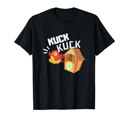 Schwarzwald Kuckucks - Reloj de pared, diseño de Suabia Camiseta