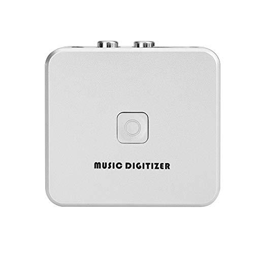 Audio Digitalizzatore e schede di acquisizione, RCA R/L da 3,5 mm Ingresso a USB Audio Capture Grabber, Cassetta CD Registratore MP3 Scatola convertitore con supporto telecomando U Disco/Scheda SD