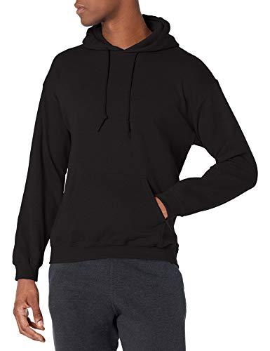 Gildan Men#039s Fleece Hooded Sweatshirt Style G18500 Black XLarge