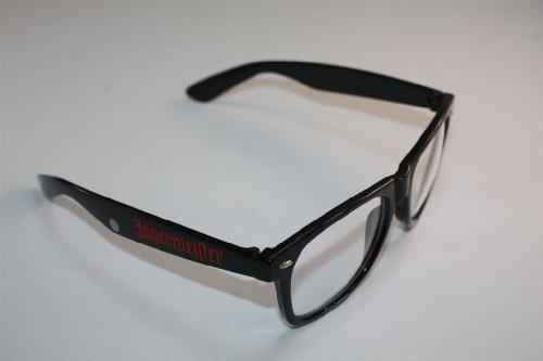 Jägermeister - Nerdbrille durchsichtig