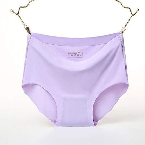 Heliansheng Ropa Interior de Mujer de Seda de Hielo Tipo A Ropa Interior Sexy con Volantes Ropa Interior de niña sin Costuras -1-M-C559