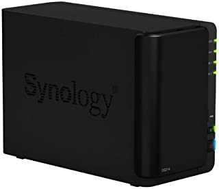 Synology DS214 Diskstation - Servidor, Negro
