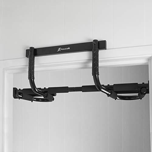 Product Image 8: ProsourceFit Multi-Grip Chin-Up/Pull-Up Bar, Heavy Duty Doorway Trainer for Home Gym