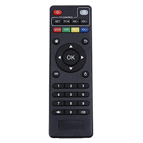 Applica a Telecomando sostitutivo Wireless per H96 PRO / V88 / MXQ / Z28 / T95X / T95Z più / TX3 X96. Mini Android. TV Scatola per Android Smart TV Scatola Sostituisci Il Telecomando (Color : Black)
