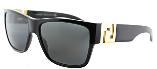Versace 0Ve4296, Gafas de Sol para Hombre, Negro (Black), 59