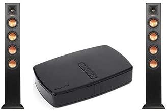 Klipsch 2 Pack RP-440WF HD Reference Premiere HD Wireless Floorstanding Speaker, 250W Peak Power, Single RP-HUB1 HD Control Centre