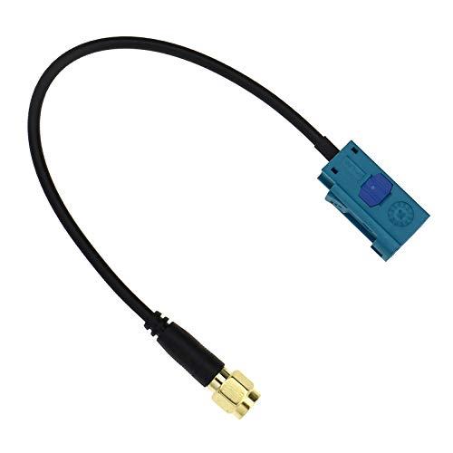 15 cm Fakra-z Buchse auf SMA Stecker Kabelkonverter Radio Antenne Adapter Kabel Anschluss für Navigationssystem Fernbedienung Antenne