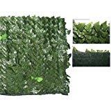 Cortasetos Artificial hacer con dibujo de hojas de Lauro