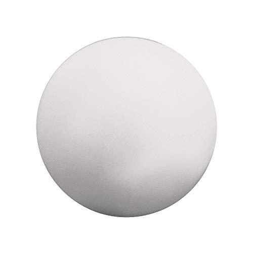 Rayher 3371100 - Confezione da 6 Palline di polistirolo, 4 cm