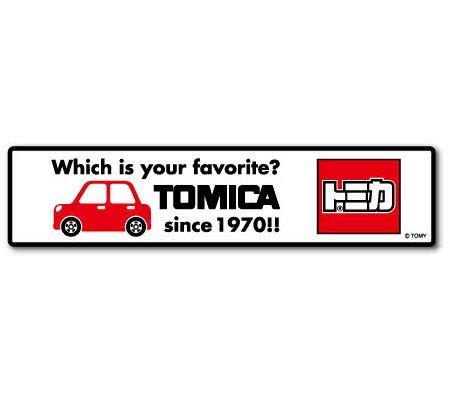 LCS-653 TOMICA ロゴステッカー 車 トミカ タカラトミー TOMY ロゴ 車