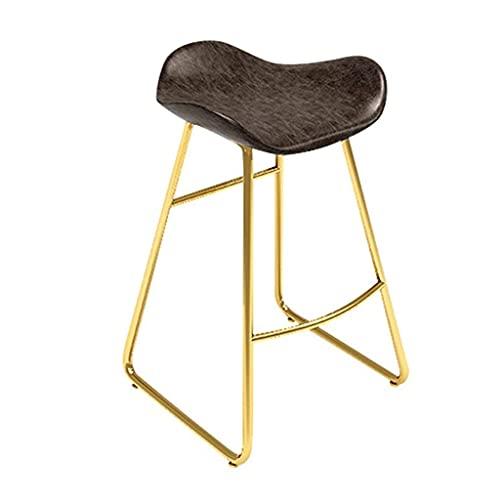 NUBAOgykongtiao Taburete de bar de metal duradero para silla de comedor, silla de comedor, silla de comedor, barra de cocina, comedor, bar, cafetería, tamaño de 40 cm (tamaño: 60 cm)