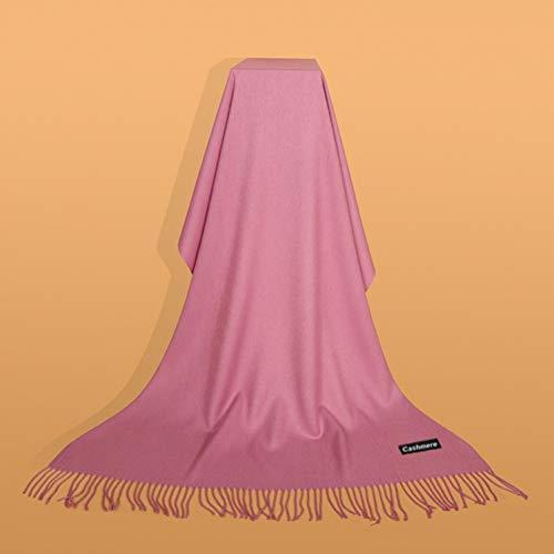 YUFSHU dames sjaal Classic Solid Warm poncho wintersjaal halsdoek sjaal sjaal sjaal Lusso 6