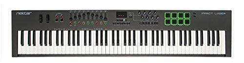 Nektar Impact LX88+ USB MIDI Keyboard Controller with Nektar DAW Integration