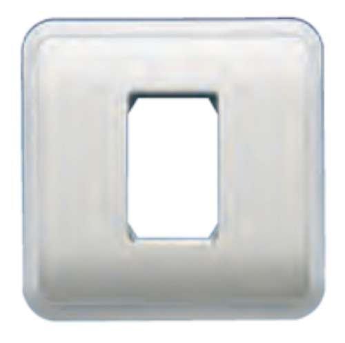 Bjc rehabitat - Placa con bastidor+marco 1 estrecho blanco