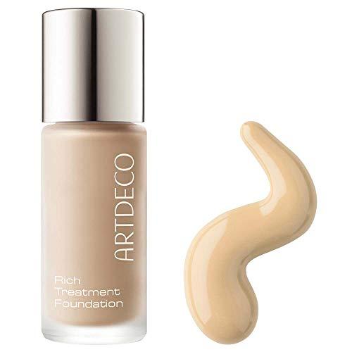 ARTDECO Rich Treatment Foundation, Flüssiges Creme Make-up, Nr. 12, vanilla rose