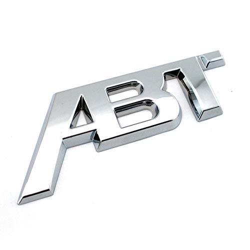 Yoin Golf 7 CC Kühlergrill Emblem ABT Emblem ABT SPORTLINE Auto Typenschild für Passat, ABT