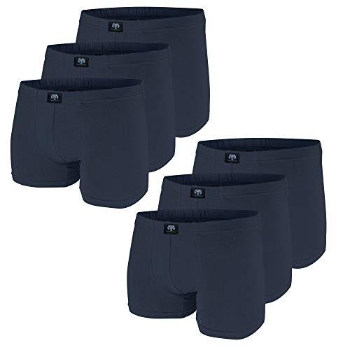 Ceceba Shorts Pants 6er Pack Boxershorts bis 3XL (9) (Large (Herstellergröße:6), dunkelblau)